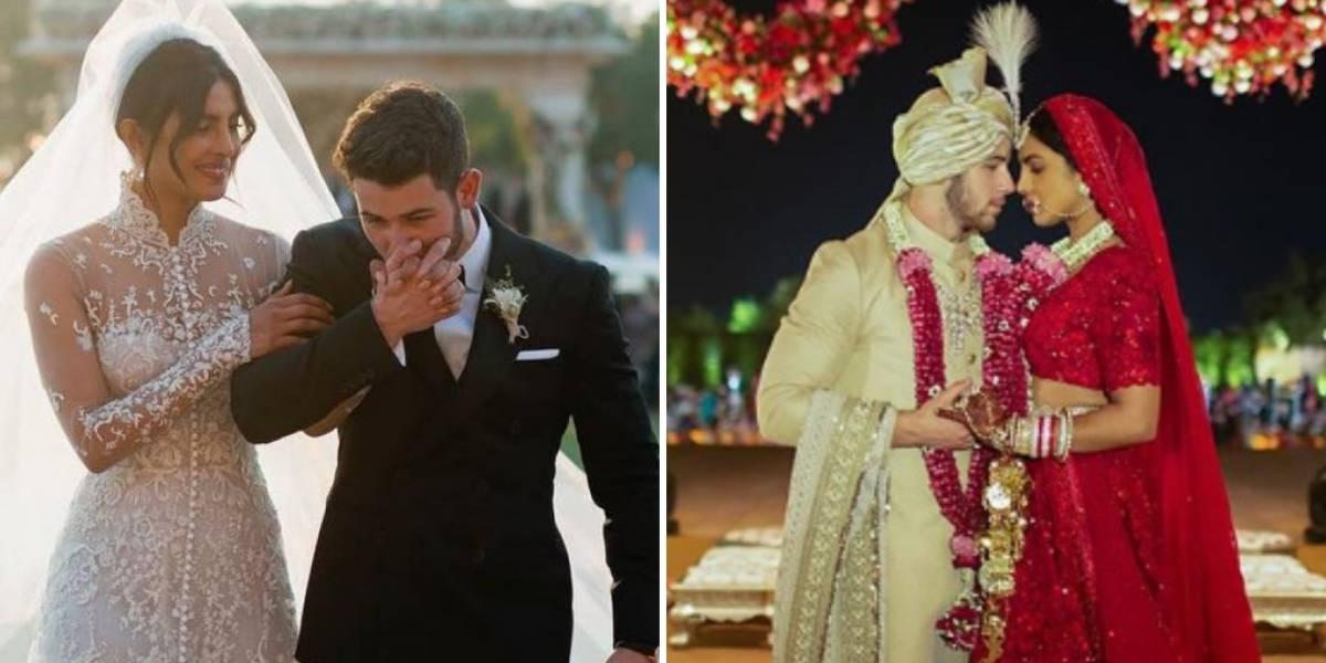 Revelam as fotos oficiais do casamento de Nick Jonas e Priyanka Chopra