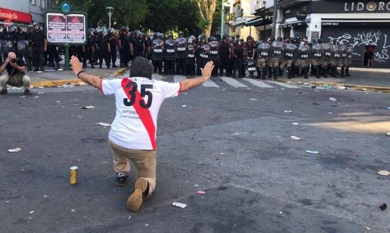 Detenido por agresión autobús Boca