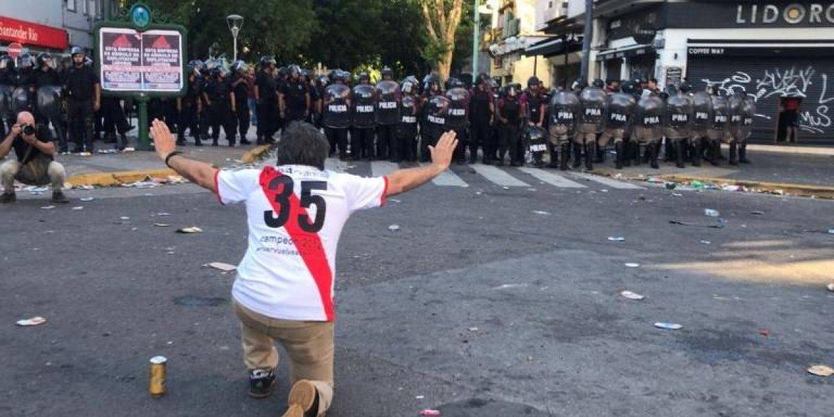 Detienen a presunto agresor de la final fallida River-Boca