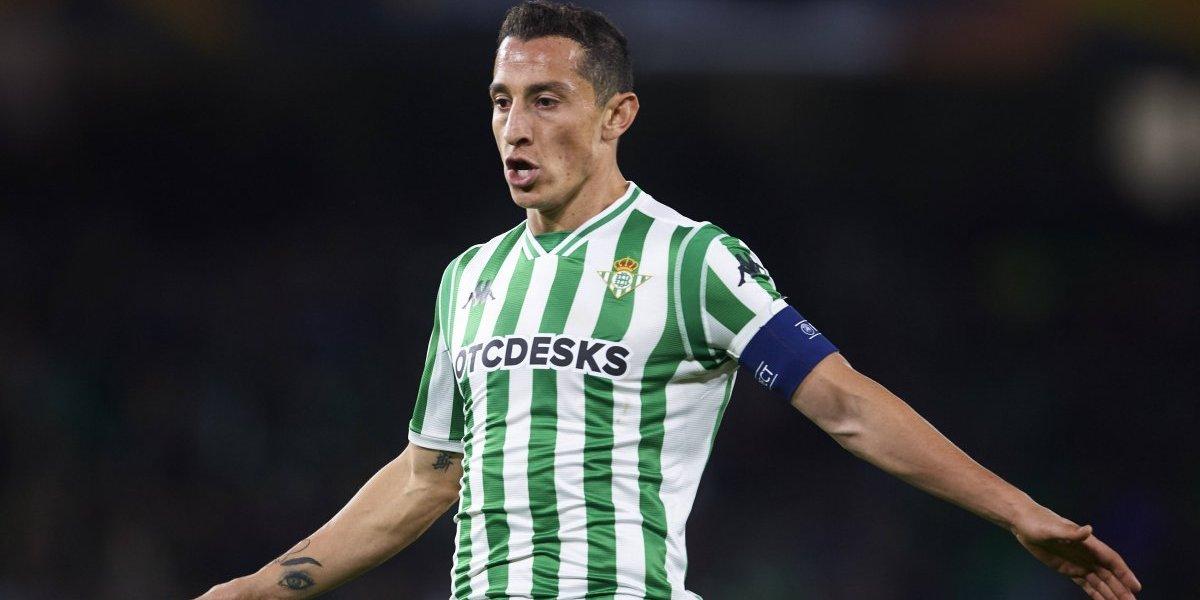 Andrés Guardado se despide del 2018 por lesión