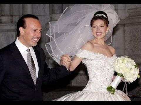 Thalía y a Tommy Mottola