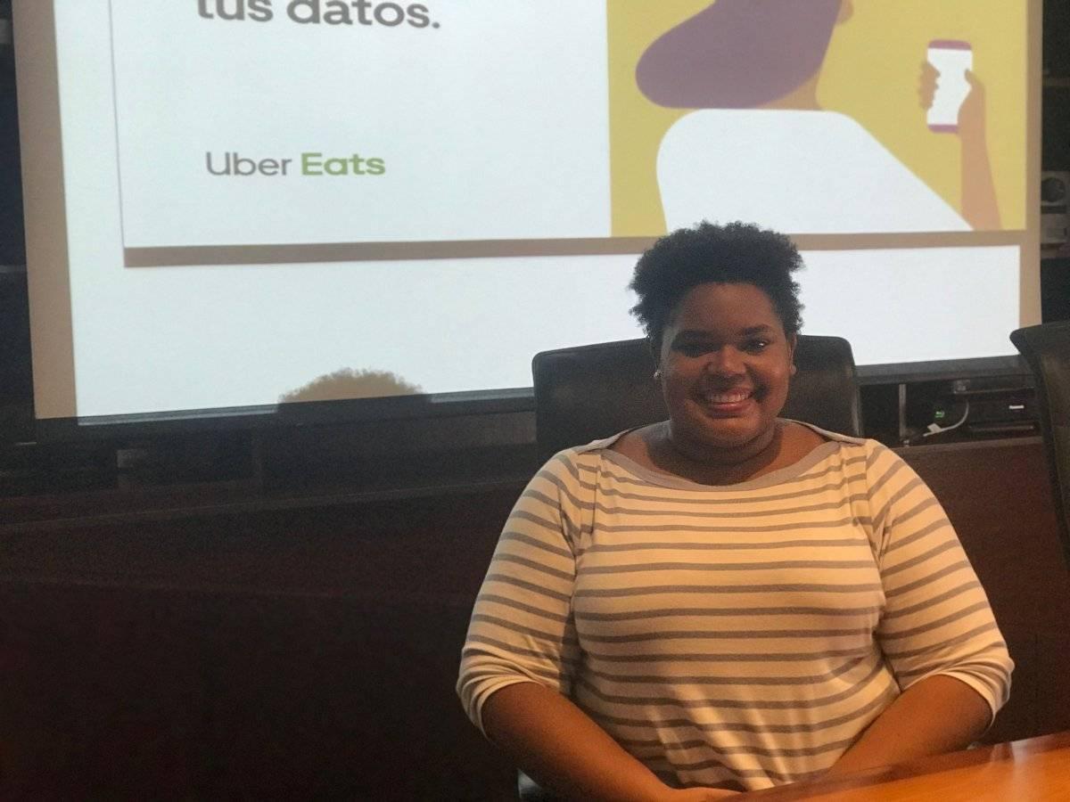 Julie Robison dio detalles sobre el lanzamiento de Uber Eats en Puerto Rico.