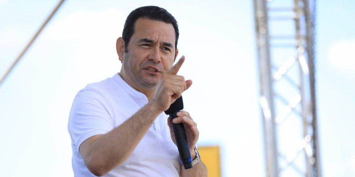 """Presidente Morales: """"Gobierno como el mío no ha habido en cuanto la ayuda a la Usac"""""""