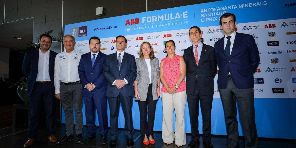 El E-Prix de Santiago de Fórmula E ya está en marcha