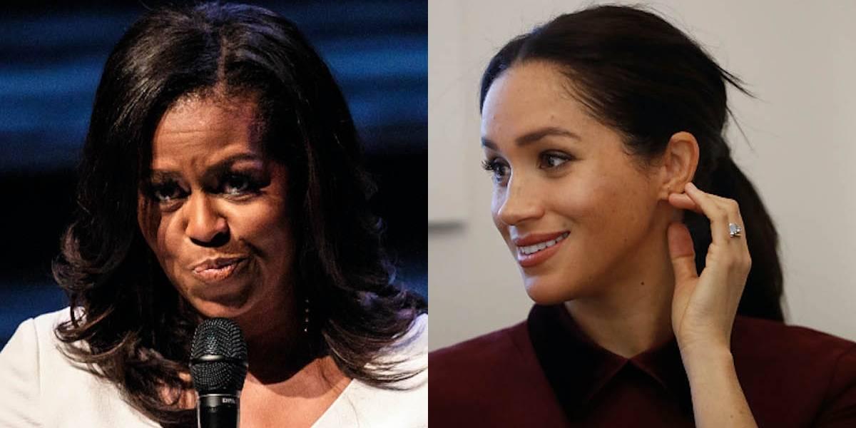 El consejo de Michelle Obama a Meghan Markle  para sobrellevar el momento que atraviesa