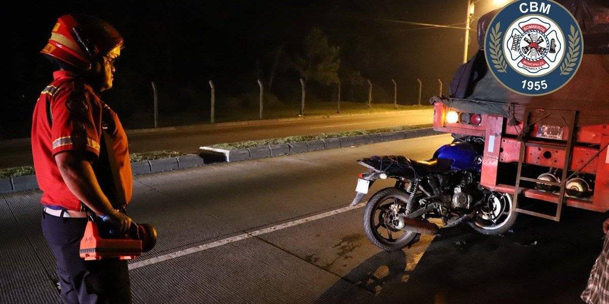 Fallece motorista tras colisionar contra tráiler en ruta al Atlántico