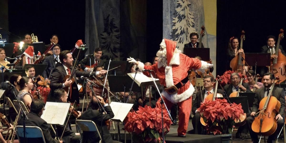 Se abre la temporada navideña de la Orquesta Sinfónica Nacional