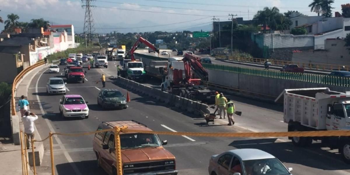 ¡Adiós al Paso Exprés en Cuernavaca! Retiran muros de concreto