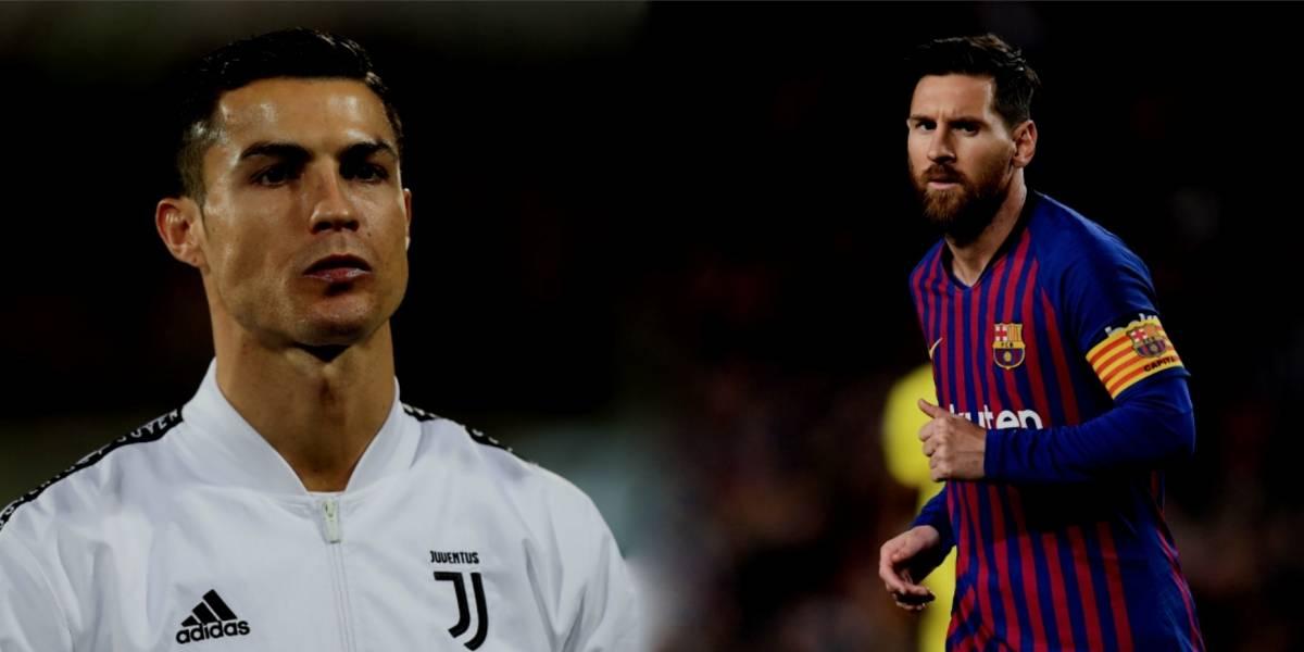 Messi y Cristiano asistirán al River-Boca en Madrid