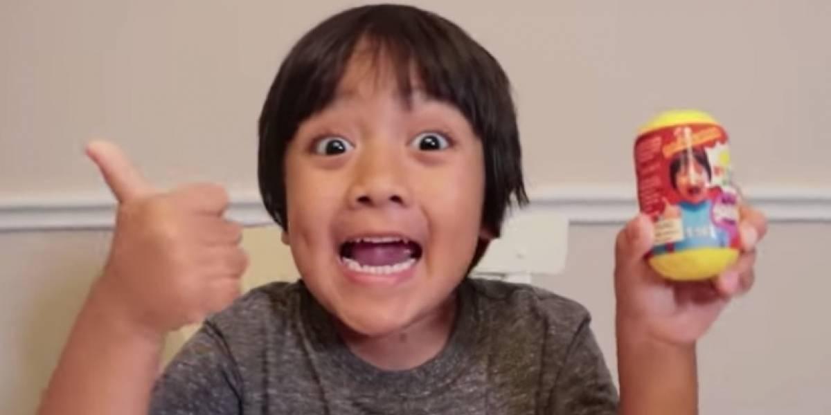 Niño de siete años se convierte en el mejor pagado de Youtube