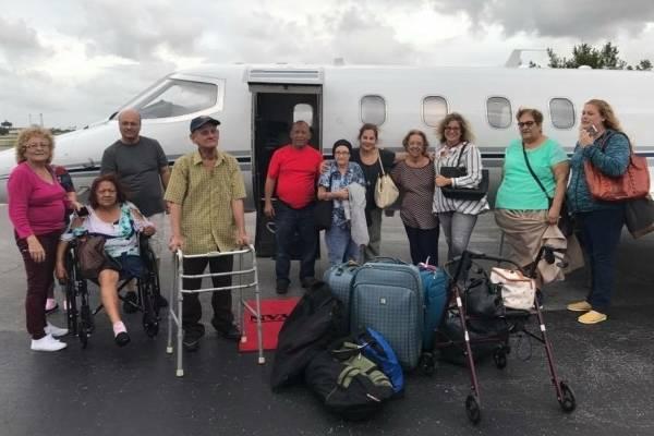 El Consejo Renal no costeó ningún viaje, pero sí ayudó en la recomendación de los pacientes que debían irse por su condición de salud. CPI