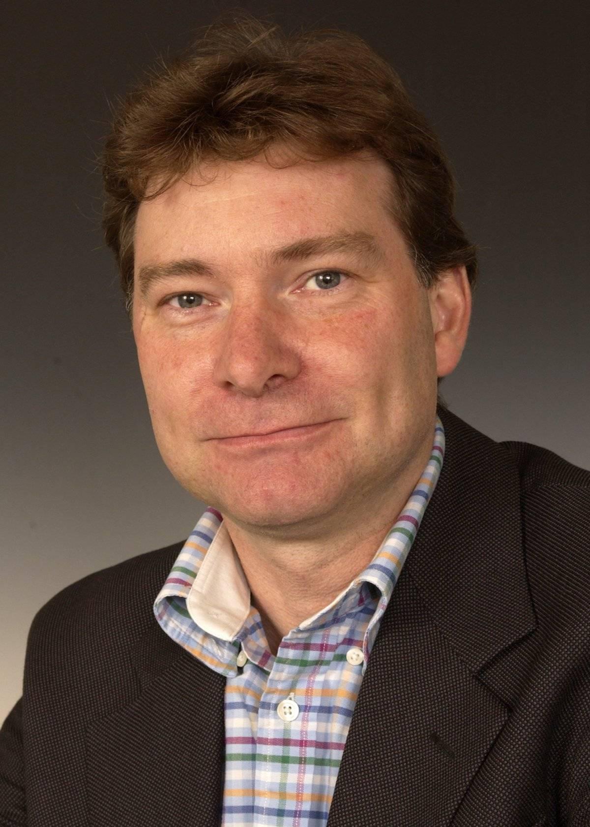 Martin Sweatman, profesor en la Escuela de Ingeniería de la Universidad de Edimburgo, Escocia