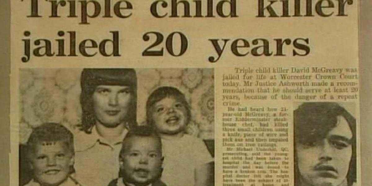 """A polêmica decisão de libertar o """"Monstro de Worcester"""", que matou brutalmente três crianças"""