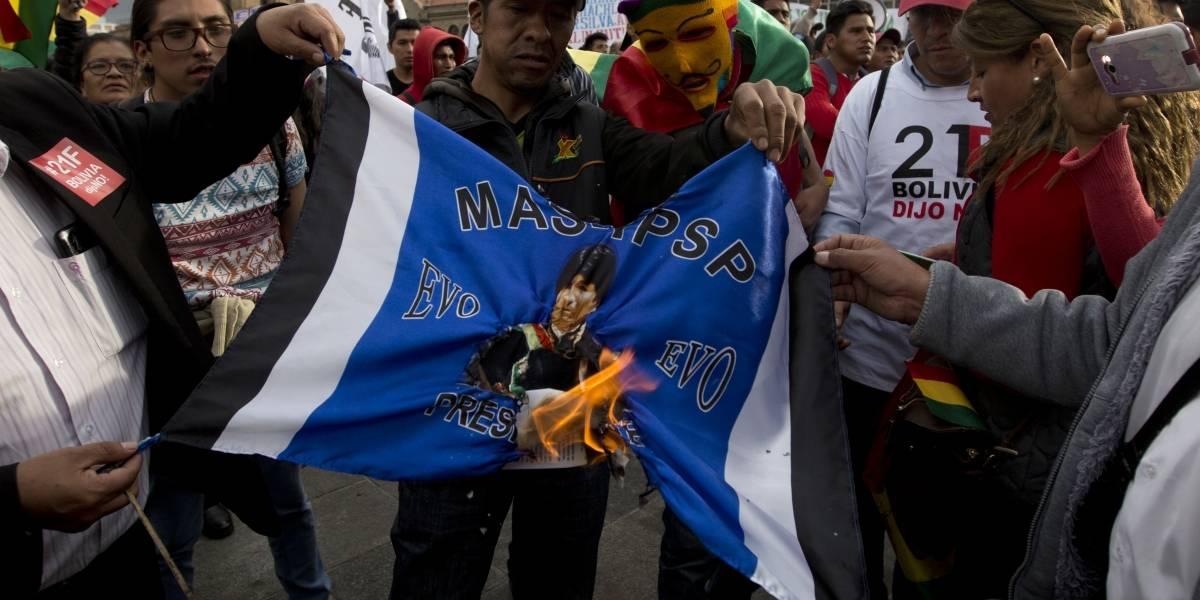 """""""Candidato trucho"""": Ola de indignación y aumento de las protestas en Bolivia por candidatura de Evo Morales"""