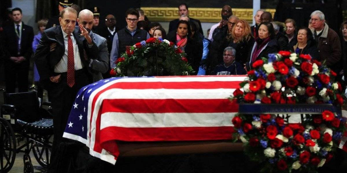 Estados Unidos despide al expresidente George H.W. Bush