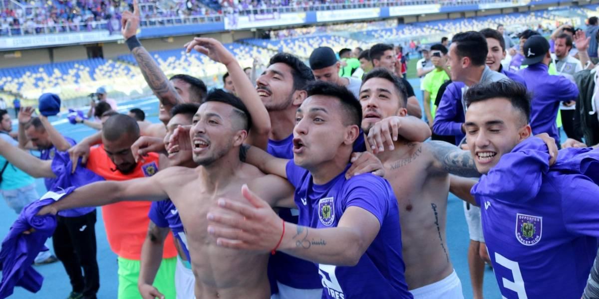 Ruge el León de Collao: Deportes Concepción podría jugar la final de la Tercera B ante 20 mil personas