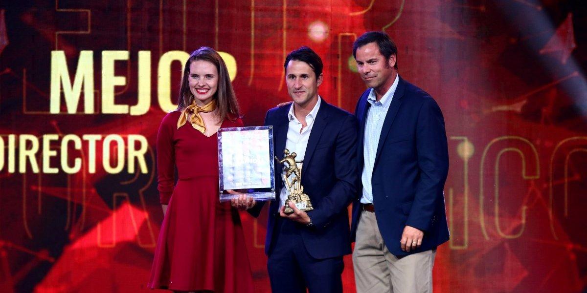 Beñat San José no para de recibir premios y ahora fue homenajeado por la Embajada de España