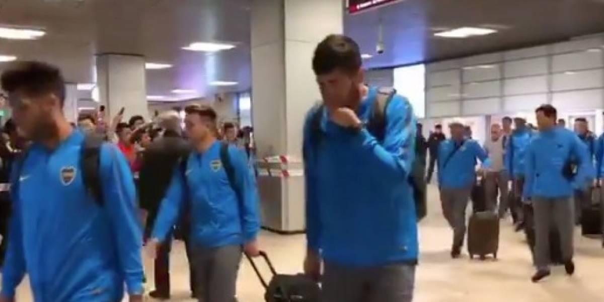 VIDEO: Boca Juniors ya está en Madrid para la Final de Libertadores