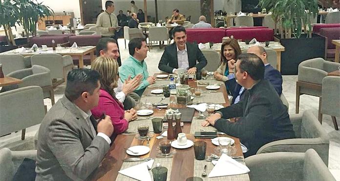 Prometen civilidad los candidatos de Monterrey; Felipe de Jesús Cantú no se une