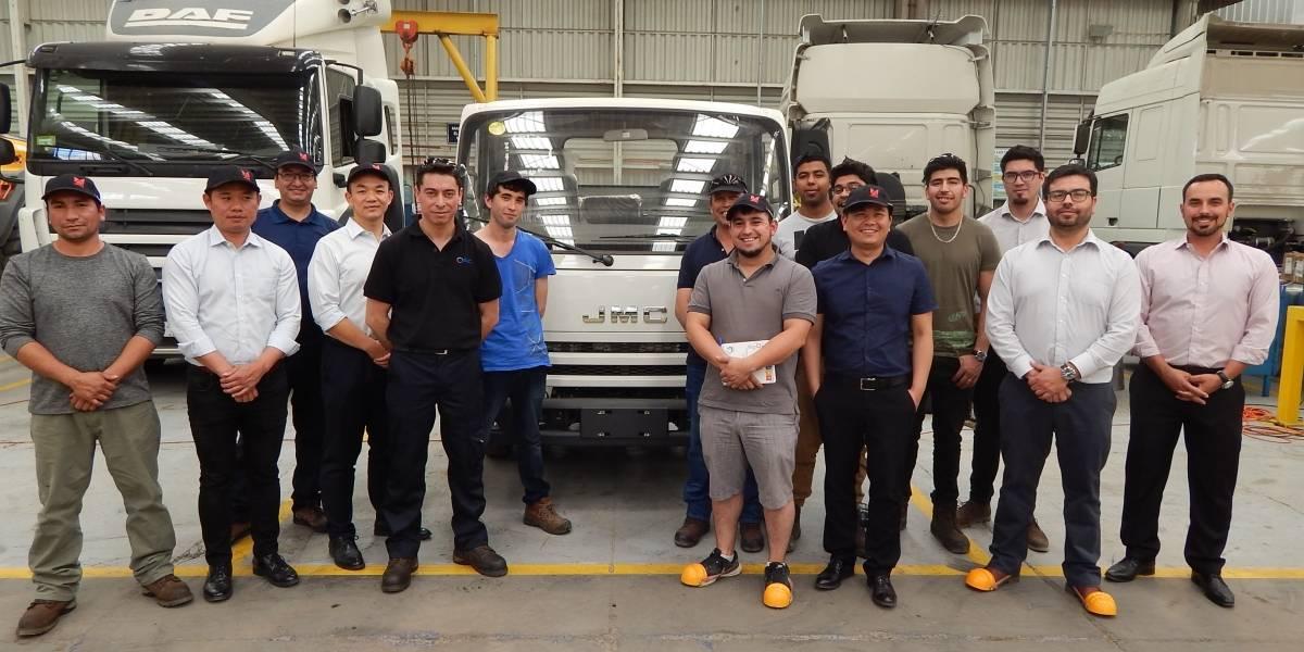 JMC capacita a los técnicos de su red de camiones