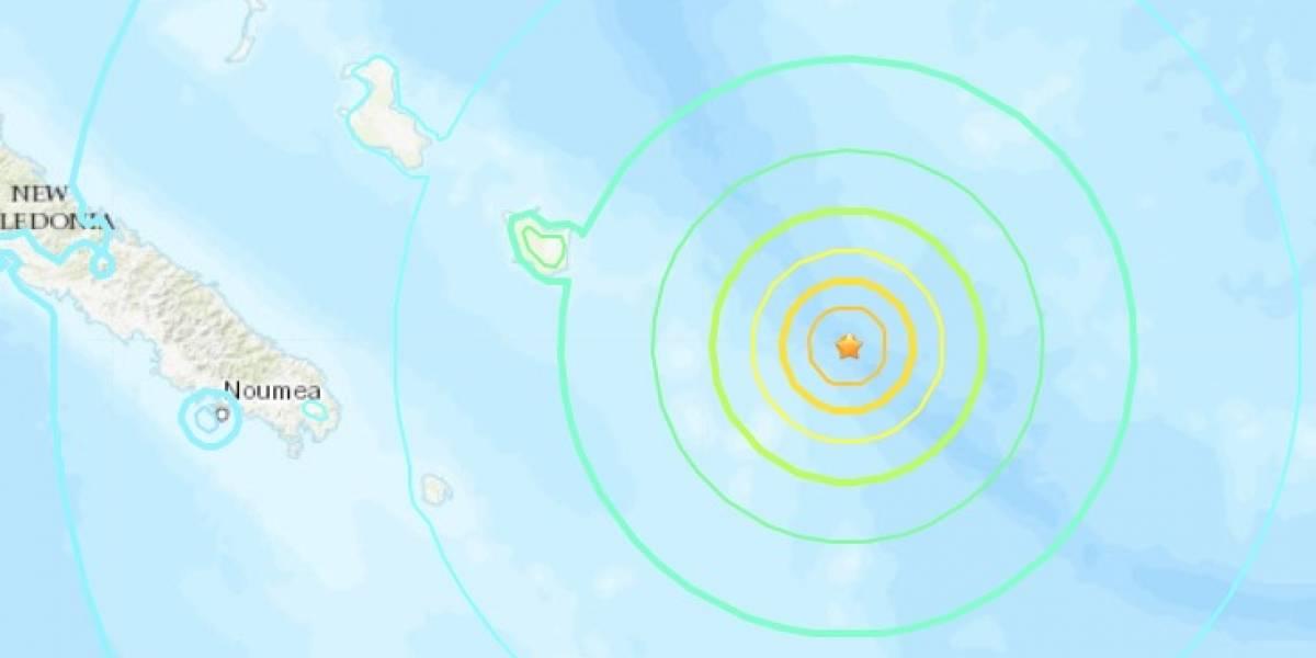 """Nuevo terremoto sacude al """"anillo de fuego del Pacífico"""": potente sismo remece a Nueva Caledonia y fuertes réplicas alertan a la isla"""