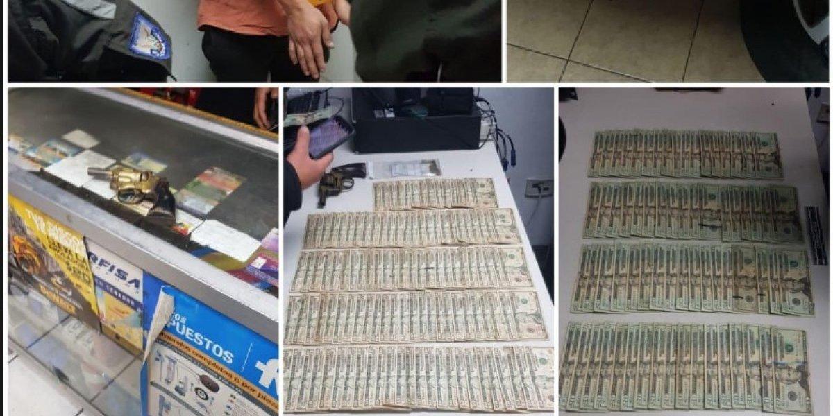 Policía impidió robo bajo la modalidad de sacapintas en Carcelén