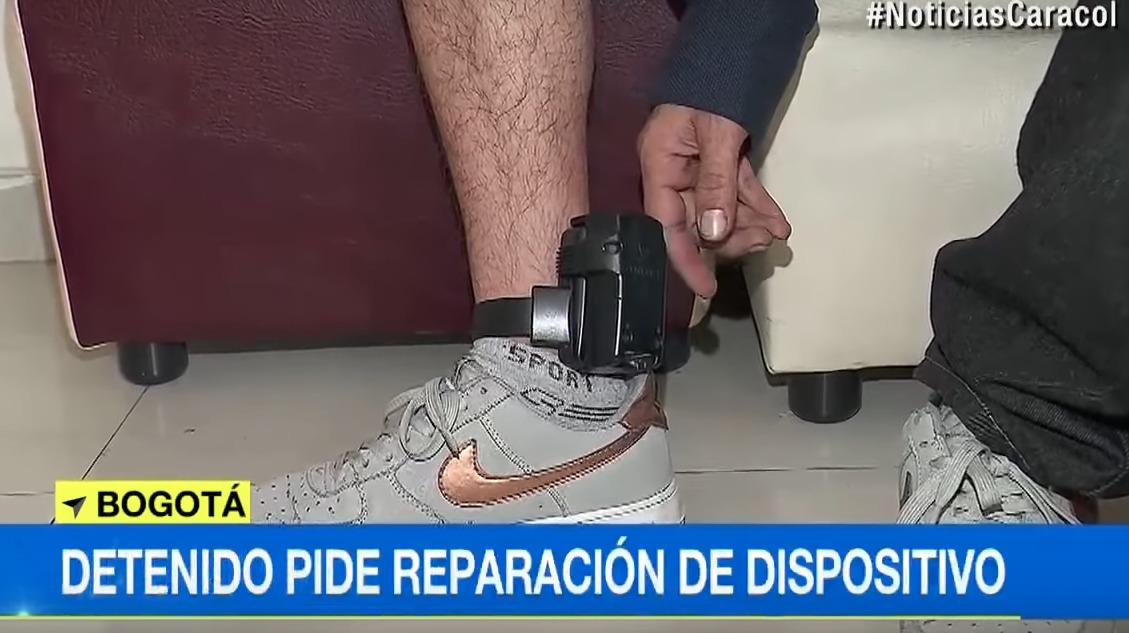 Detenido con brazalete electrónico llamó para denunciar que su dispositivo no funcionaba bien