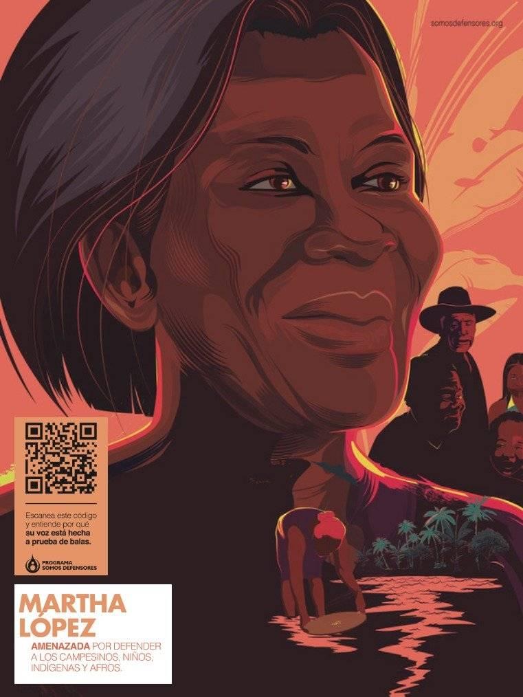Somos defensores: Martha López