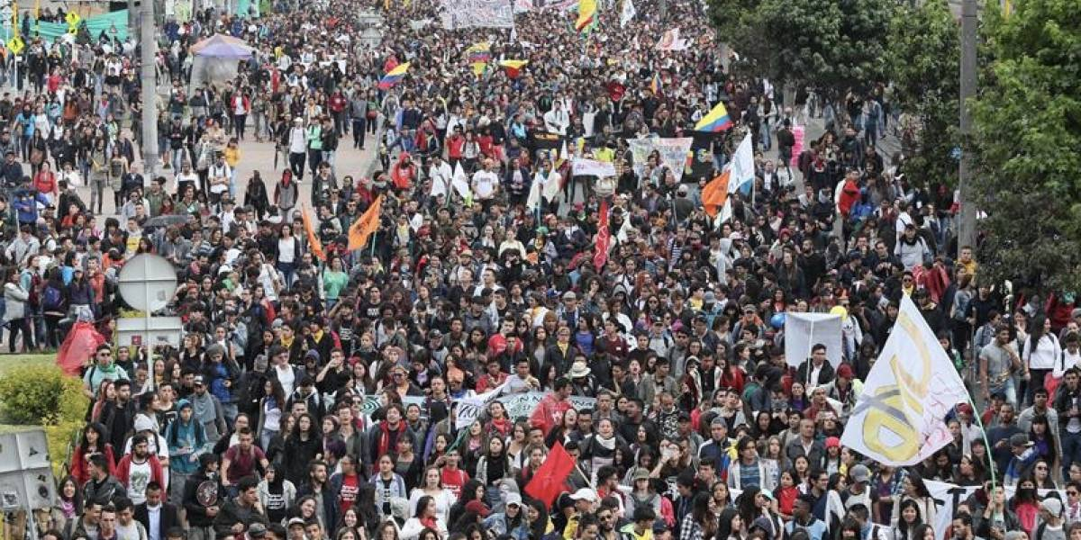 Basuco y protestas
