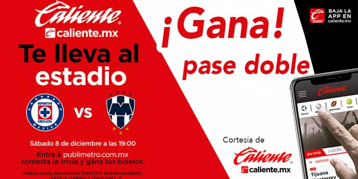 Gana pase doble para el partido Cruz Azul vs Monterrey