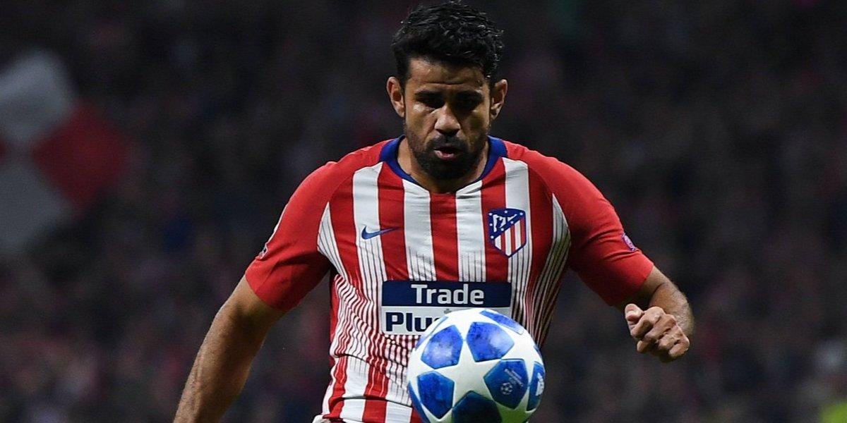 Operan con éxito al delantero del Atlético de Madrid, Diego Costa