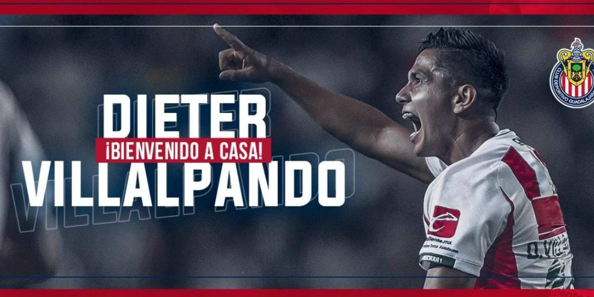 Ya es oficial, Dieter Villalpando es jugador de Chivas
