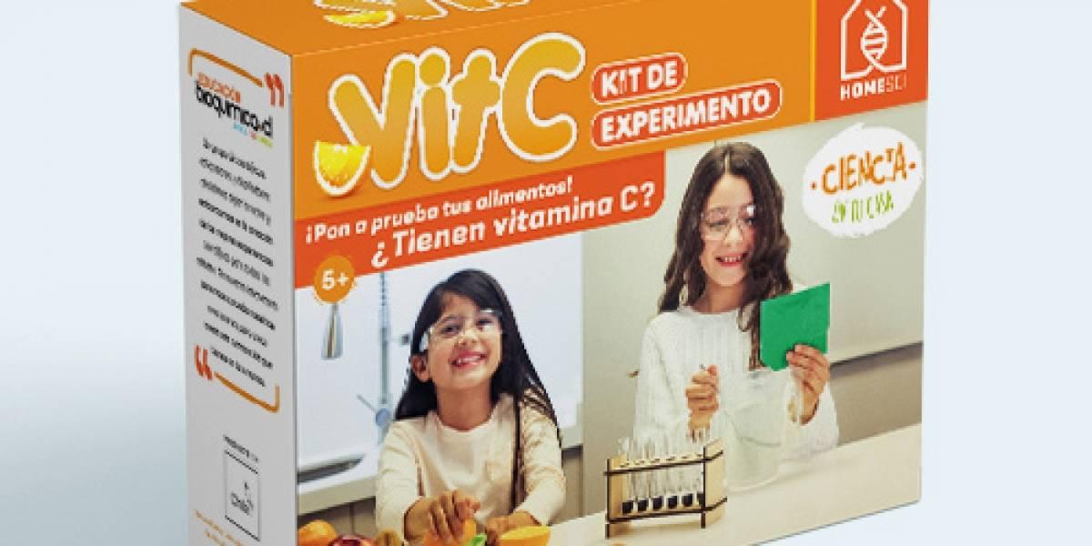 Ciencia en tu casa: El kit de regalos para que los niños jueguen a ser científicos en Navidad