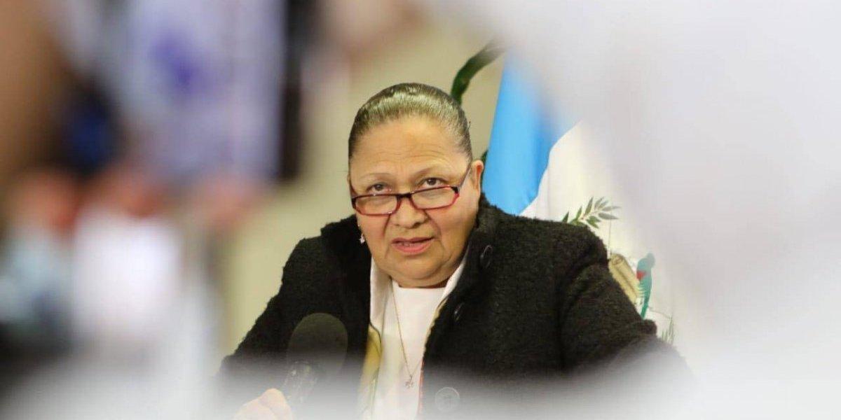 Consuelo Porras sabía sobre plan de asesinar a Thelma Aldana
