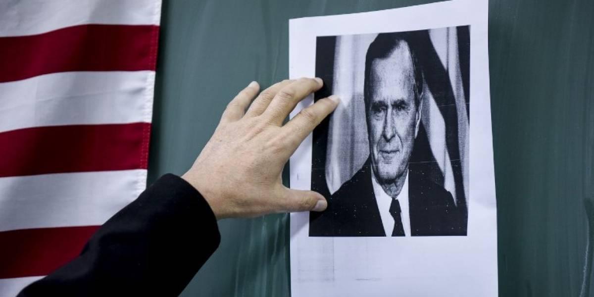 EE.UU. se viste de luto para el funeral de Estado de George H. W. Bush