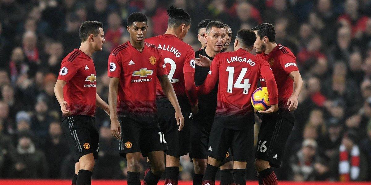 Manchester United empató con Arsenal, sigue sin convencer a nadie y sumó otro partido sin ganar