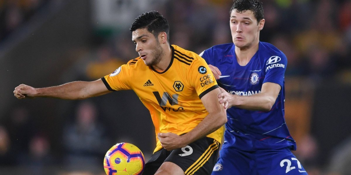 Raúl Jiménez anota en victoria del Wolves ante el Chelsea