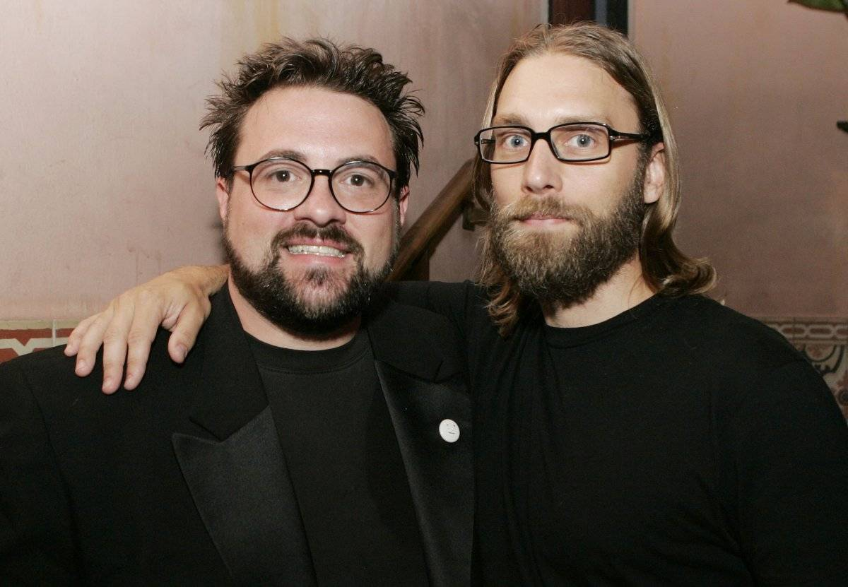 Kevin Smith (izquierda) y Scott Mosier. |getty