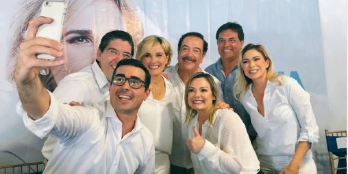 Úrsula Strenge y Andrés Guschmer presentados como candidatos a concejales de Guayaquil