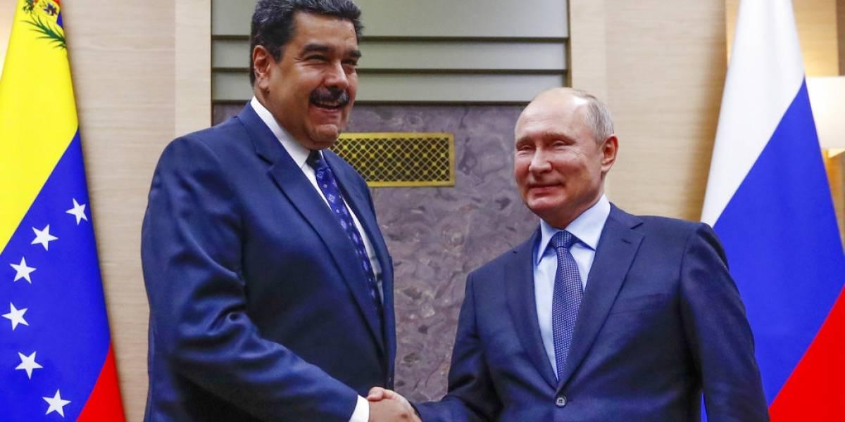 Maduro recibe el apoyo de Putin en su visita a Rusia