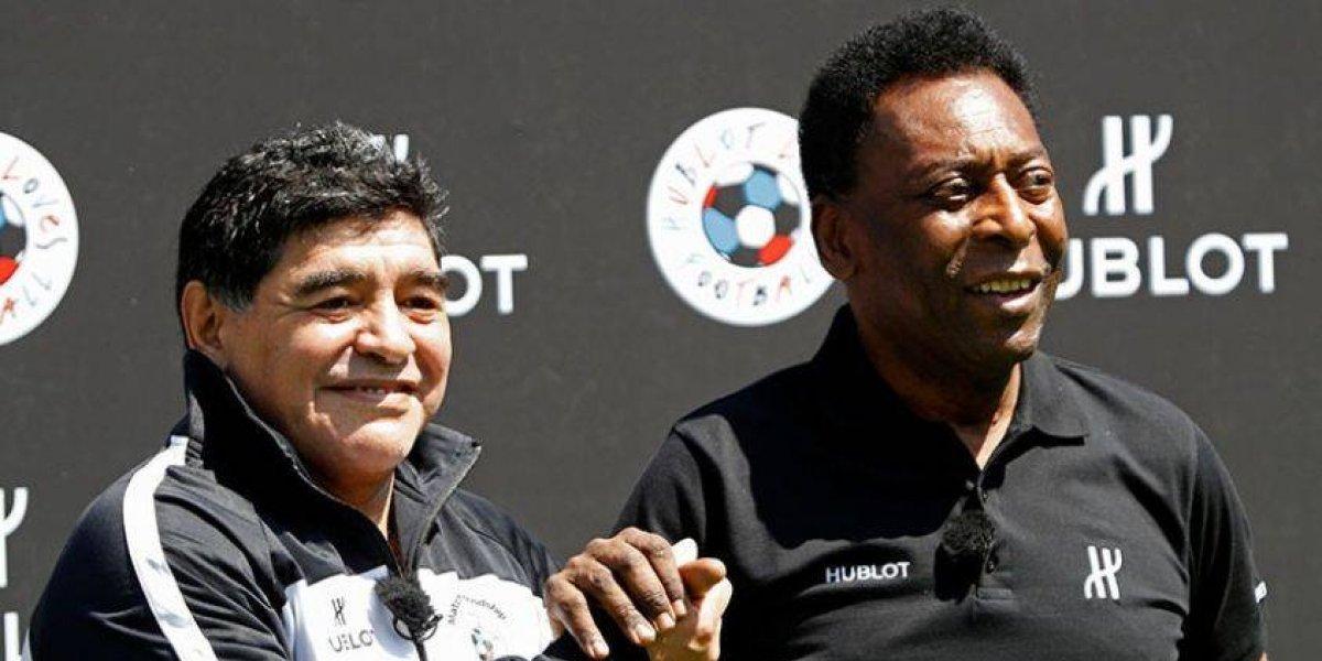 Pelé considera que Maradona es mejor que Messi y criticó a Neymar