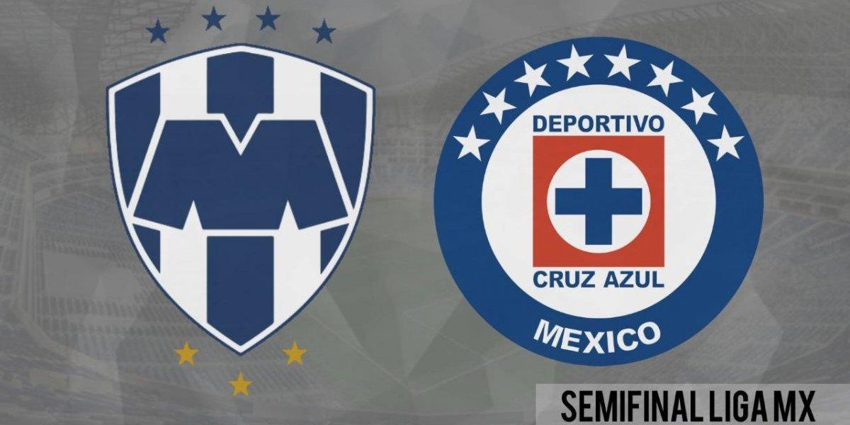 Monterrey supera al Cruz Azul en el primer capítulo de la semis