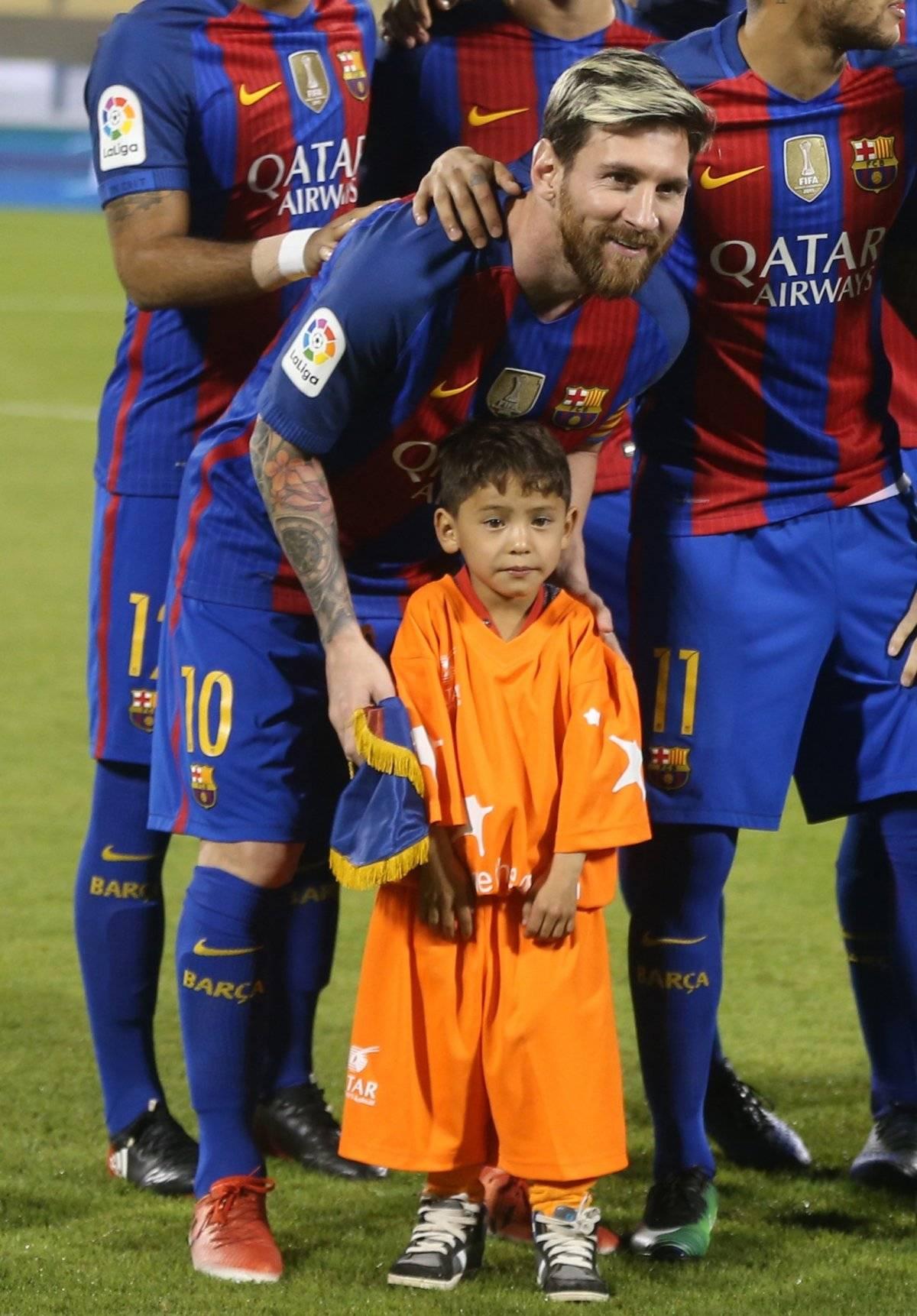 Murtanza no olvida la promesa que le hizo Messi |TWITTER