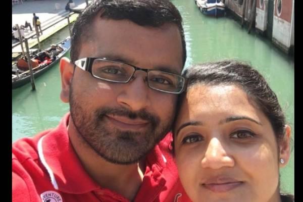 Mitesh y Jessica Patel