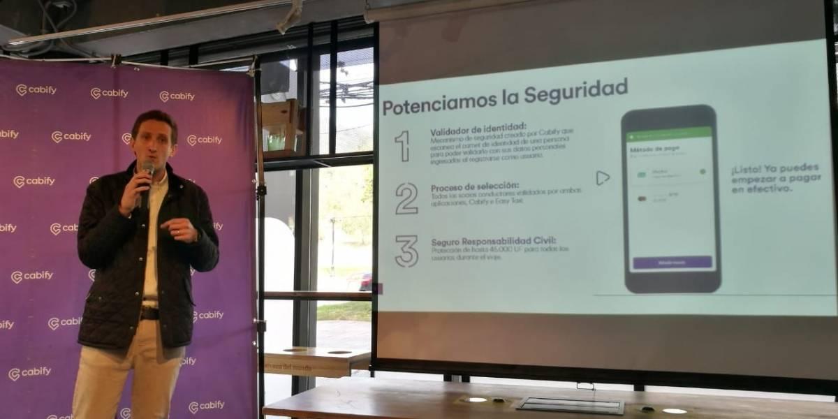 Cabify firma alianza con Easy Taxi y pega bombazo a la industria de apps móviles en Chile