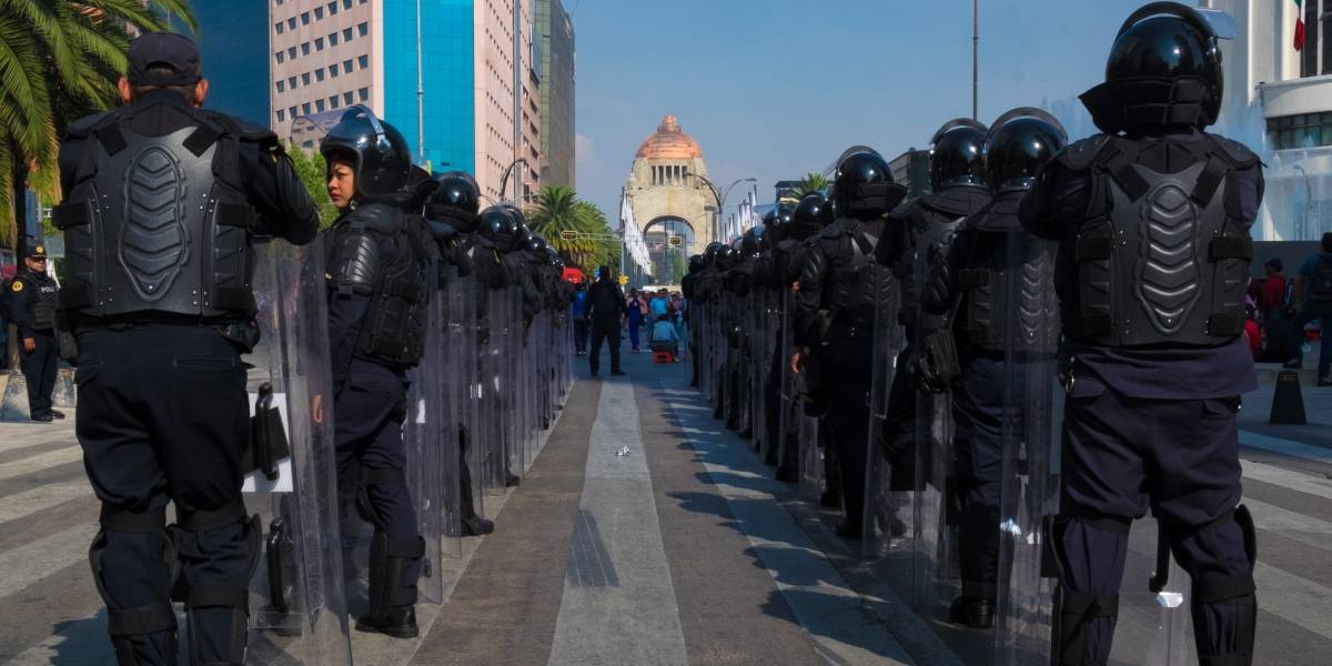 Derechos Humanos aplaude desaparición de granaderos