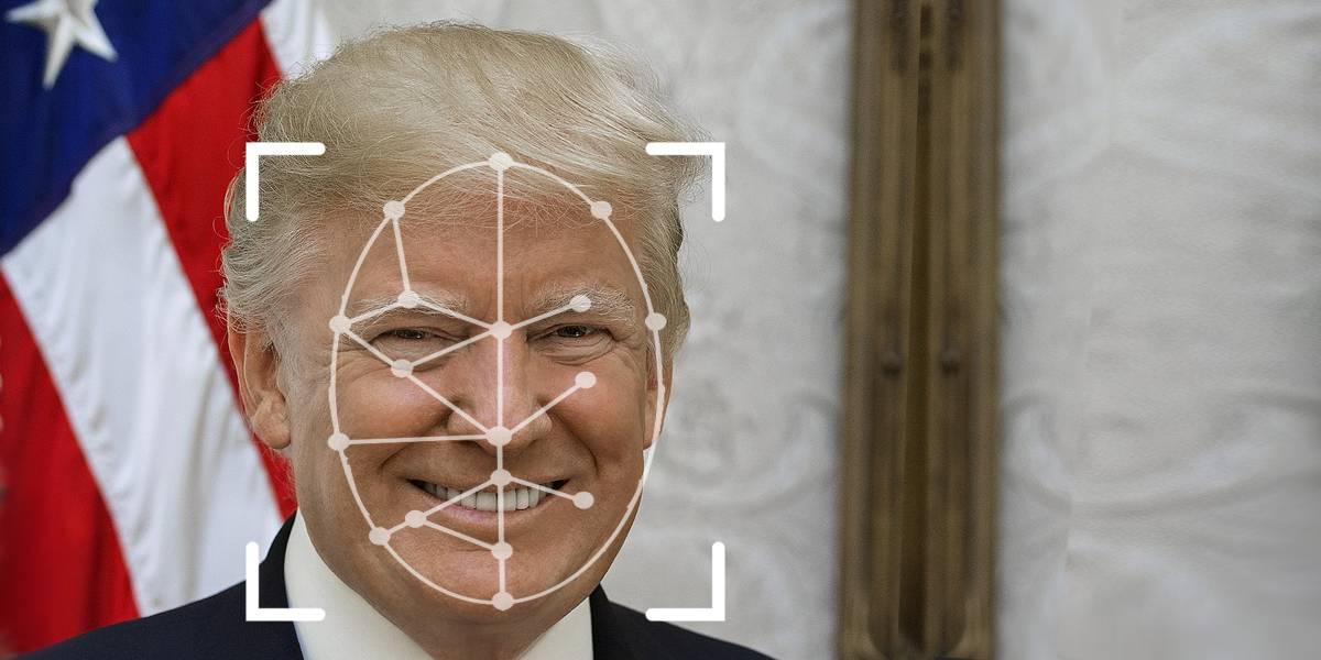 Donald Trump Reconocimiento facial