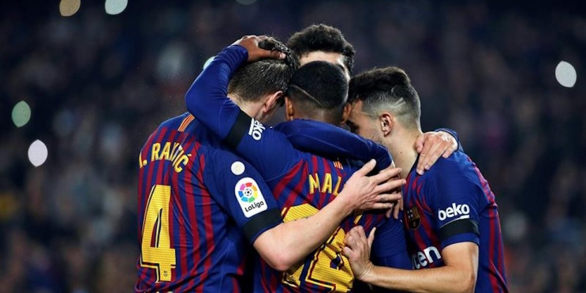 El Barcelona se clasifica con goleada a los octavos de la Copa del Rey