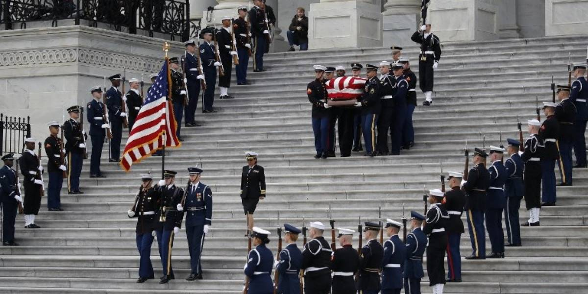 EN VIVO. Sigue el funeral de Estado del expresidente George H. W. Bush