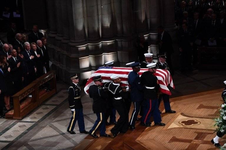 Funerales de George H. W. Bush